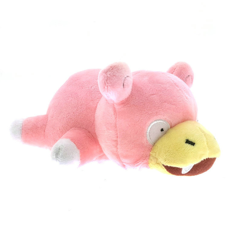 Pikachu plush figure toys cute cartoon 19cm lying prone Slowpoke soft stuffed animal dolls kids gift hot cute pikachu plush toys 22cm high quality plush toys children s gift toy kids cartoon peluche pikachu plush dolls for baby