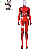 Darling In The Franxx Zero Two Code 002 Zentai Suits Lycra Jumpsuit Spandex Halloween Cosplay Costume