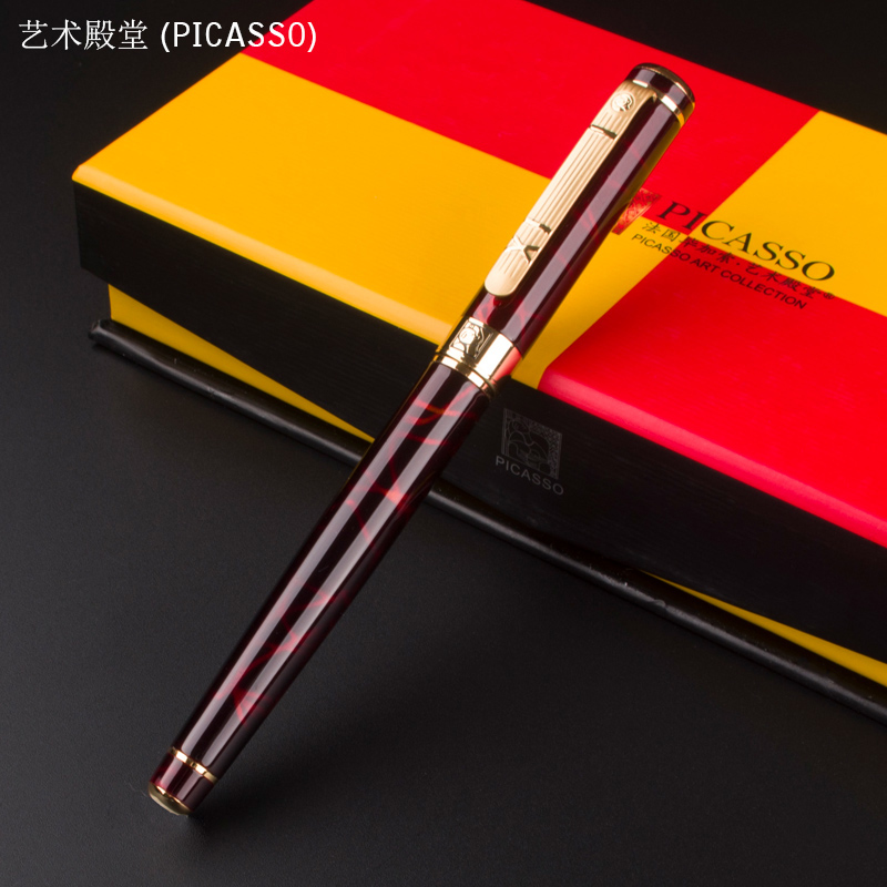 PICASSO 902 noble red stripes M nib fountain pen dream picasso 902 fountain pen nib iridium point newest model new design promotional set pen design gift