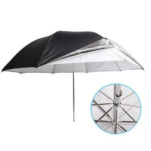 "Image 4 - Godox 33"" 84cm Double Layers Reflective and Translucent Black White Umbrella for Studio Flash Strobe Lighting"