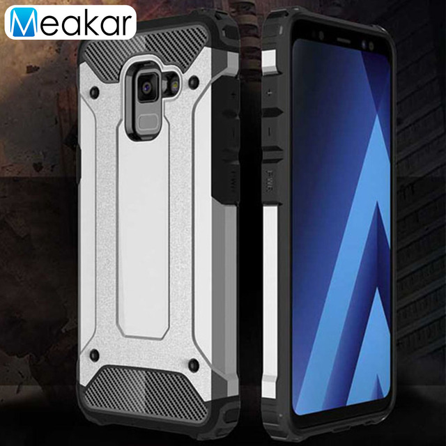 buy popular 6dccb f8f0b US $3.02 31% OFF|Shockproof Armor Phone Case 5.5For Samsung Galaxy A5 2018  Case For Samsung Galaxy A5 2018 A530 A530F Cell Phone Back Cover Case-in ...