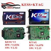 2017 High Quality Kess V2 SW V2.32 FW 4.036 OBD2 Manager Tuning Kit + KTAG SW V2.13 FW 6.070 ECU Programmer Chip Tuning Tool