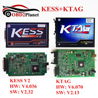 2017 High Quality Kess V2 SW V2 32 FW 4 036 OBD2 Manager Tuning Kit KTAG