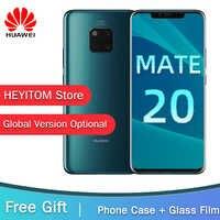 Globale Versione Opzionale HUAWEI Mate 20 Pro Telefono Cellulare a Schermo Intero Impermeabile IP68 40MP 4 Telecamere Kirin 980 FACE ID SBLOCCARE