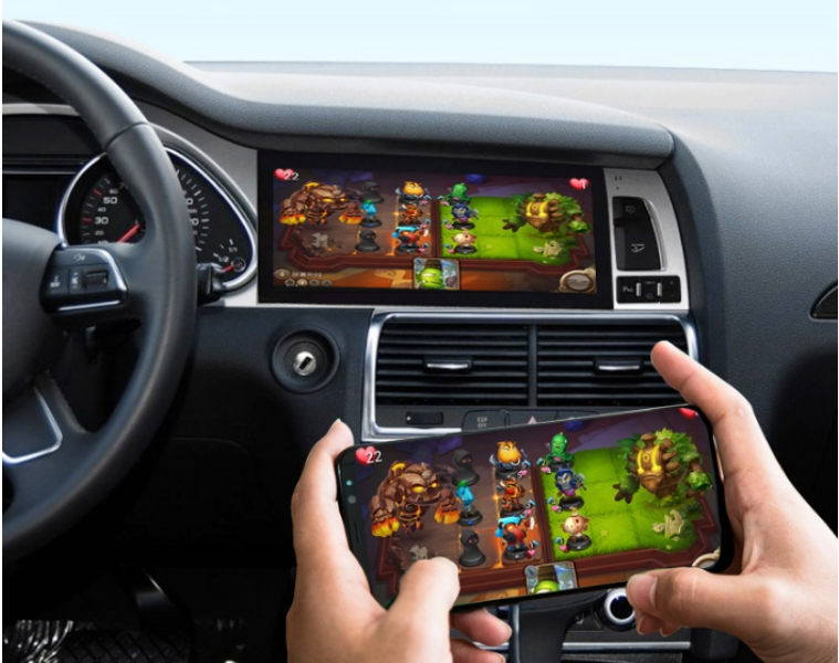 Liandlee Car Multimedia Player NAVI For Audi Q7 4L V12 2005~2015 Car System Radio Stereo CarPlay Adapter GPS Screen Navigation 14