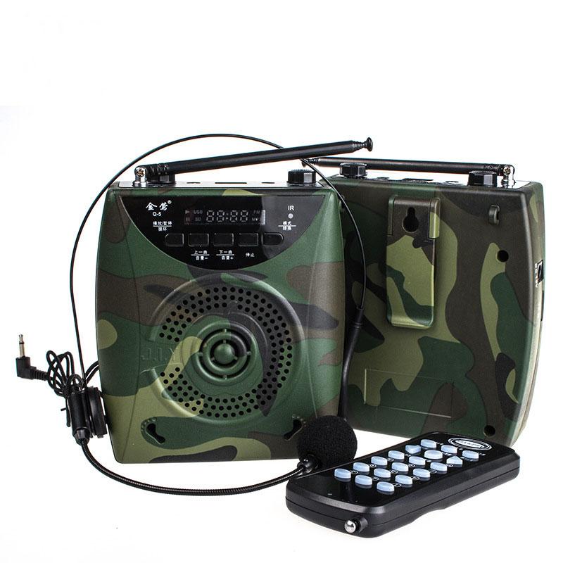 Amplificateur Portable multifonction haut parleur sans fil haut parleur Microphone mégaphone haut parleur support TF carte FM Radio guide pédagogique-in Portable Haut-parleurs from Electronique    1