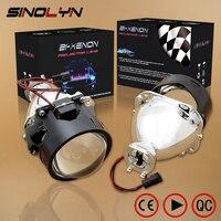 Car Accessories Car Styling Retrofit 2 5 HID BiXenon Projector Headlight Lens H1 H4 H7 For