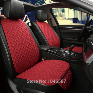 Image 3 - Car Front Seat Back Cushion Car seat cushions Seat Cover Protector Pad Mat for Auto Front Car Styling Car Decorate Protect