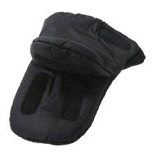 1 Pair Baby Pram Stroller Gloves Warm Fleece Pushchair Hand Gloves Baby Buggy Clutch Cart Muff Gloves Stroller Accessories