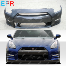 For Nissan GTR R35 (2011-2013) Glass Fiber OEM Style Front Bumper w/o LED (DBA Bumper) Tuning Part