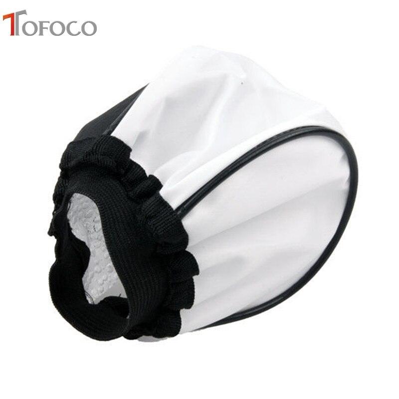 TOFOCO prenosni univerzalni plašč mehko bliskavico, mehka - Kamera in foto - Fotografija 4