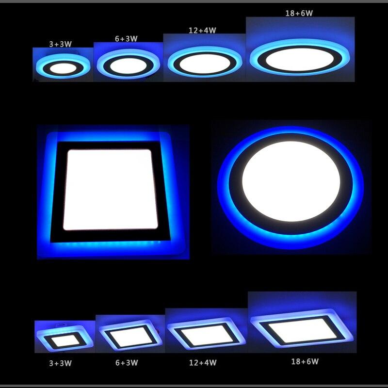Aliexpress Com Buy New Led Panel Downlight 6w 9w 18w 24w