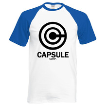 DRAGON BALL Z Capsule corp t-shirt (6 colors)