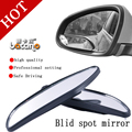 BACANO 2PCS universal Driver 2 Side Wide Angle  Convex Car Vehicle Mirror Blind Spot Auto RearView for all car hot selling