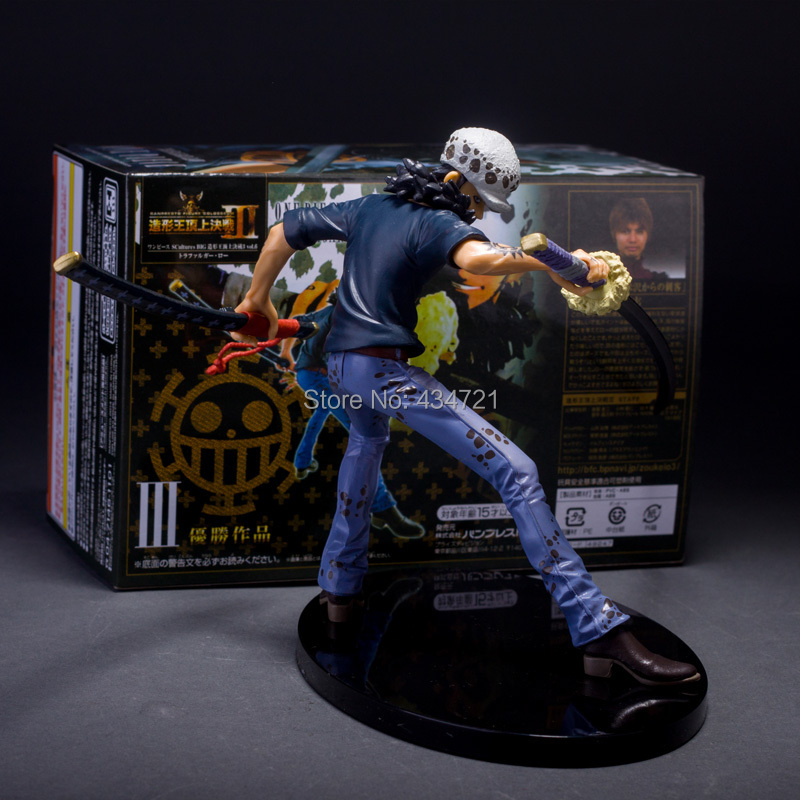 "New Trafalgar D Water Law One Piece Pirate Dödsoperatör Doktor 6 ""SCultures BIG 3 Vol. 6 Action Figur Leksaker"