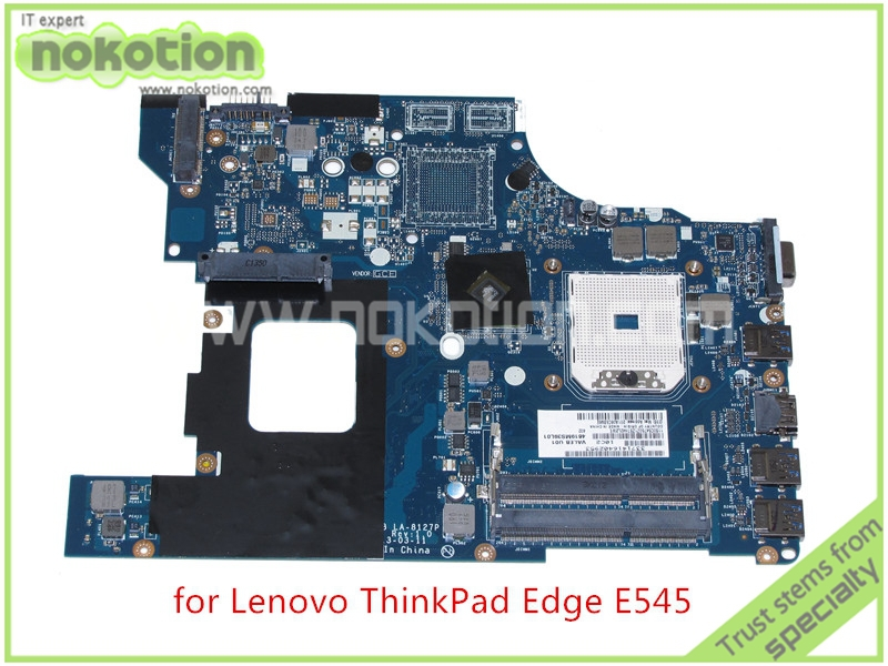 NOKOTION Laptop Motherboard FOR Lenovo ThinkPad Edge E545 15'' Radeon VALEB LA-8127P DDR3 Mainboard