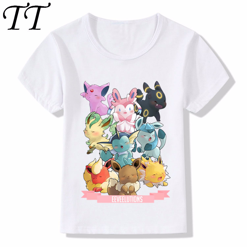 Children Fashion Pokemon Go Spirits Gotta Fit Them All Design Funny T Shirt Kids Cute Clothes Boys Girls Summer Tops Tee,HKP5091|T-Shirts| - AliExpress
