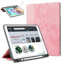 Для iPad Pro 12,9 2017/2015 чехол-карандаш, тонкий смарт-чехол Trifold Stand Auto Sleep/Wake защитный чехол для iPad Pro 12,9