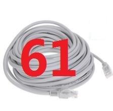 61 # laoke 2018 кабель высокого Скорость 1000 м RJ45 CAT6 сети Ethernet плоский кабель LAN UTP Патч-маршрутизатор Кабели