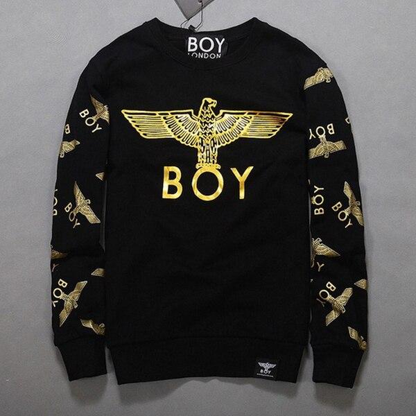 4be93e939e7 US $20.88 |new 2015 plus size women sweatshirt winter punk boy london Foil  Letter Eagle print velvet hoodies couple clothes on Aliexpress.com | ...