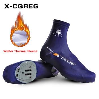 2018 profesional novedoso forro polar térmico MTB Zapatillas deportivas de Bicicleta accesorios...