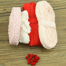 20 yards gray series random delivery of cotton lace mixed color home accessories apparel DIY materials