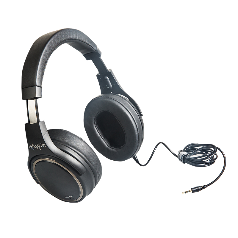 URBANFUN_Urbanfun Trandsound ONE HiFi casque 45mm béryllium diaphragme bandeau stéréo Mi casque haute qualité écouteurs - 4