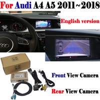 Reverse Camera For Audi A4 A5 2011~2018 Interface Adpter Parking Rear Backup Camera Connect Original Screen MMI Decoder