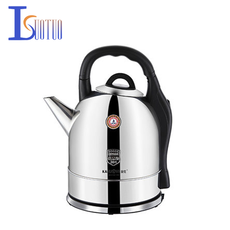 E-500 304 stainless steel electric kettle, large capacity kettle 5L 1800W