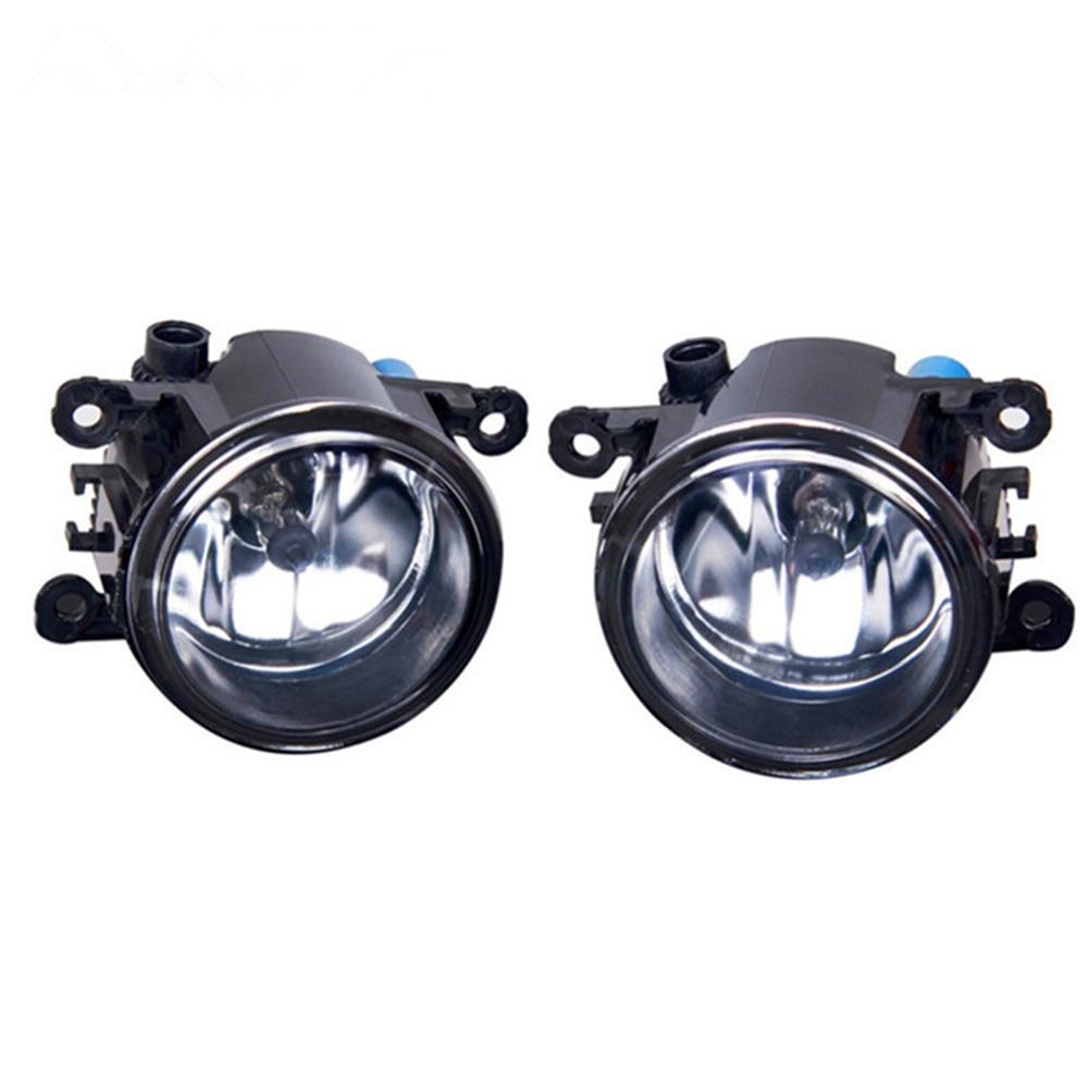 Fog Lamp Assembly Super Bright Fog Light For Dacia Duster Sandero Logan 2004-2015 H11 55W 4000LM Halogen Fog Lights 2Pcs