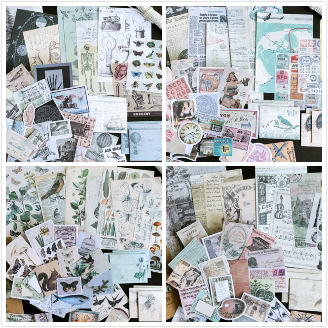KSCRAFT Vintage Design Material Papers for Scrapbooking DIY Projects/Photo Album/Card Making CraftsKSCRAFT Vintage Design Material Papers for Scrapbooking DIY Projects/Photo Album/Card Making Crafts