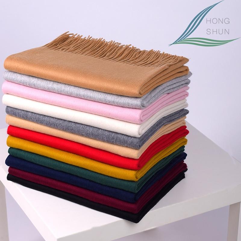 2016  300g Thickening Wool Cashmere Scarf Big Shawl Fashion Spring Winter Female Scarves Oversized Rainbo Women