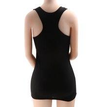 1PC di Modo Solido delle Donne Morbida E Confortevole Carro Armato del Cotone Top Cami Vest No T Shirt A Manica 5 Colori Disponibili