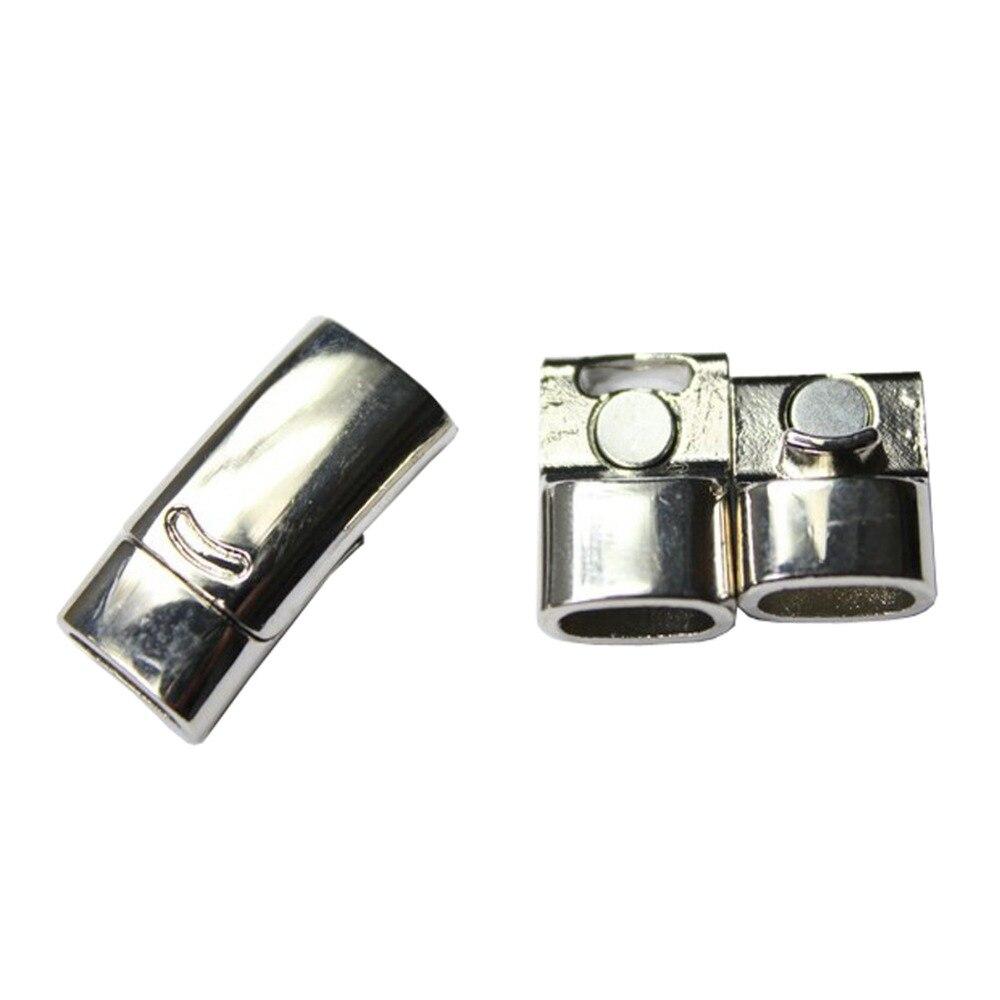 3 комплекта 10 мм x 5 мм отверстие Размеры изогнутые магнитного Синтетическое закрытие волос, позолоченные с безопасным бар MT399