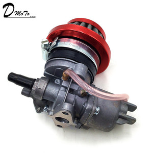 Image 5 - Pocket bike 47cc 49cc carburador, motor carb com filtro de ar 2 tempos para mini quad atv dirt bike minimoto