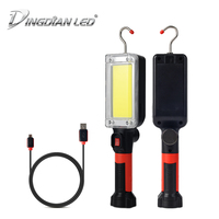 C0B LED Working Lamp Car Inspection Portable Working Lamp Adjustable Easy Carry USB Rechargeable Emergency Light DC5V 20W 700LM