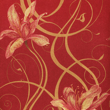 New romantic pastoral 3D floral wallpaper Mural wall paper living room bedroom hallway wallpaper For walls Red yellow blue