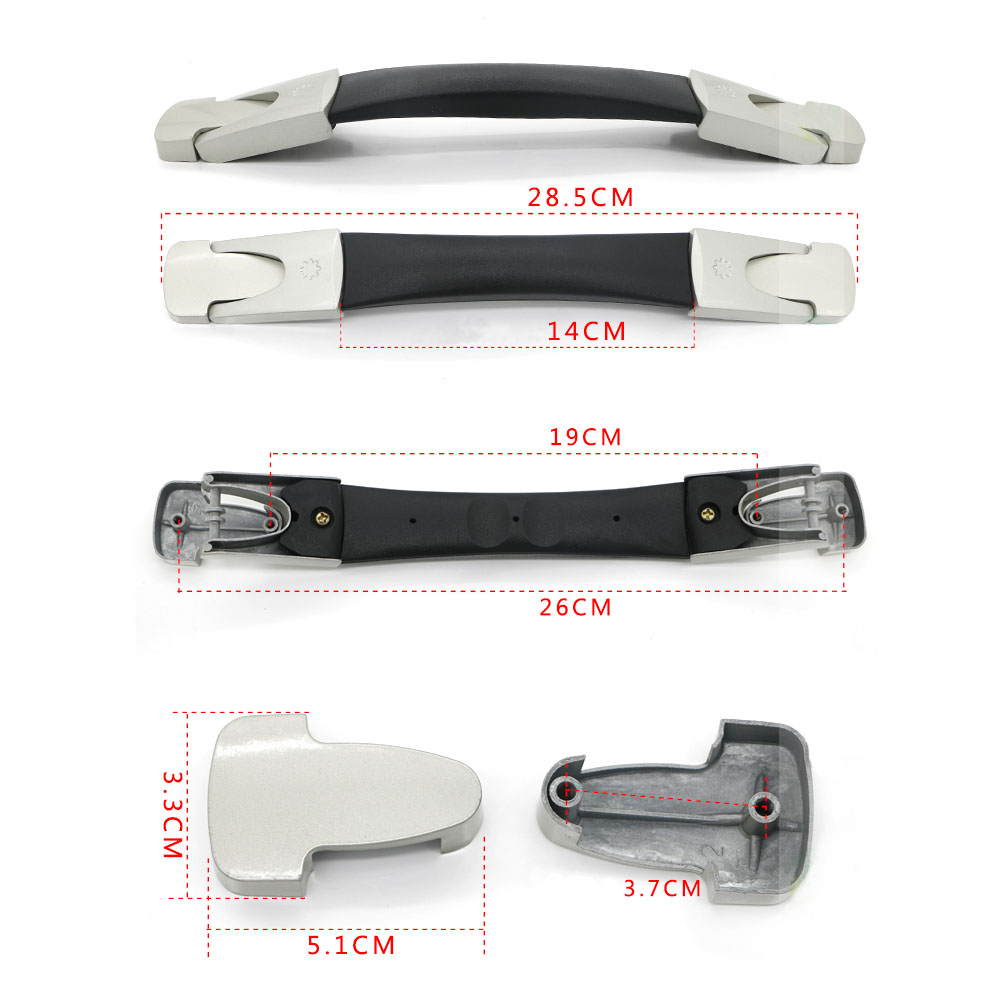 Suitcase Luggage Case B023 14cm Spare Carry Handle Grip Handle ReplacementSuitcase Luggage Case B023 14cm Spare Carry Handle Grip Handle Replacement