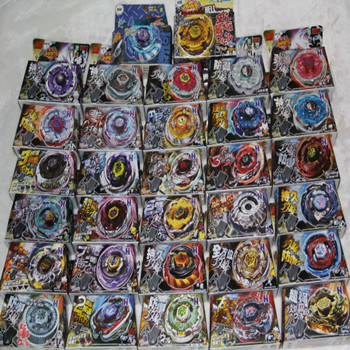 Best Birthday Gift Wholesale 32PCS Different Style 4D Beyblade Metal Fusion Beyblade Spin Top Toy Beyblades