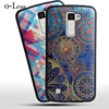 New Arrivals 3D High Quality Soft Ultra Thin TPU Print Back Cover Case For LG K10 LTE K420N K430 K430ds F670 Phone Bag Hot