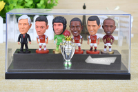 6PCS Display Box Soccer ARS Player Star Figurine 2 5 Action Doll Classic Version The Fans