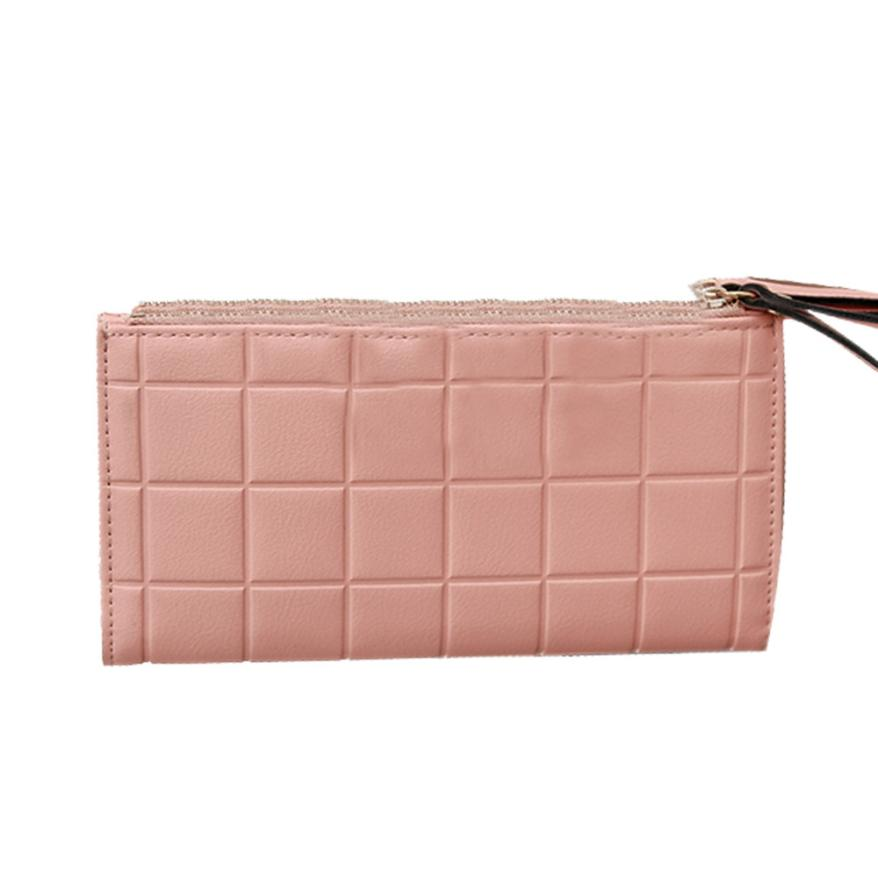 Female Carteira Luxury wallets High-quality PU Leather Wallet Women Long Purse Brand Clutch Card Holder Pouch portefeuille women wallets 2017 brand solid pu leather wallet long purse v letter luxury female carteira ladies coin pocket card holder y072