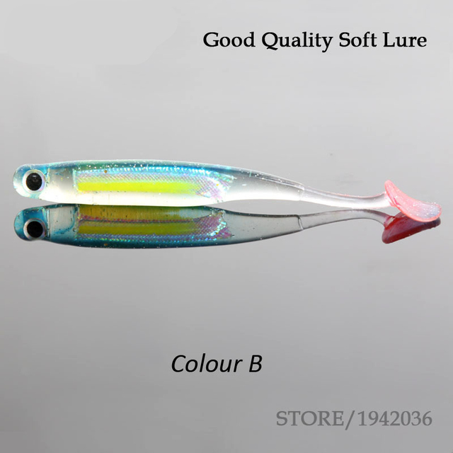 Hot Sell Soft Fishing Lure 10cm 6g Fake Artificial Bait Fishing Lures Soft Plastic For Spinning Telescopic Fish Free Shipping