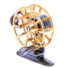 Aluminum Flexible Full Metal Ultra-light Former Ice Fishing Reels Wheel Fly