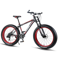 Casdona Mountain bike Aluminum Bicycles 26 inches 7/21/24 speed bike road 26x4.0 Double disc brakes Fat bicycle