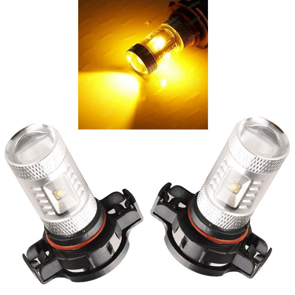 CYAN SOIL BAY Gold Yellow Amber 3000K 30W 5202 2504 H16 LED Bulbs For Fog Light Driving Lamp