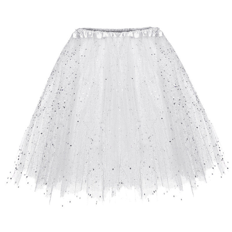 New Womens Rainbow Tulle Skirt Fashion Puffy Ladies Girls Party Skirts Lace Princess Fairy Voile Tulle Skirts Saia Feminina 66