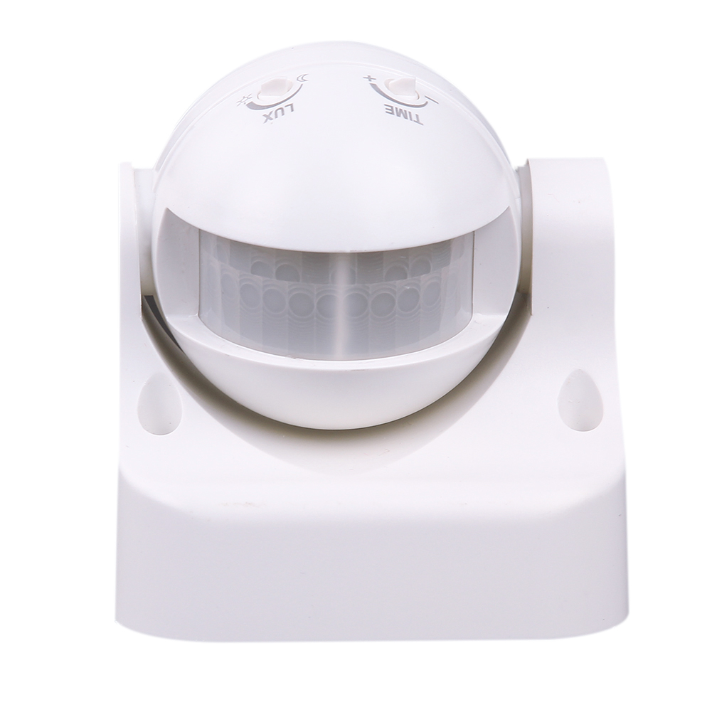 где купить New White Swith 220V Human Infrared Ray Sensor Smart Lighting Inductive Switch Outdoor Practical Waterproof Dust Proof Gadget дешево