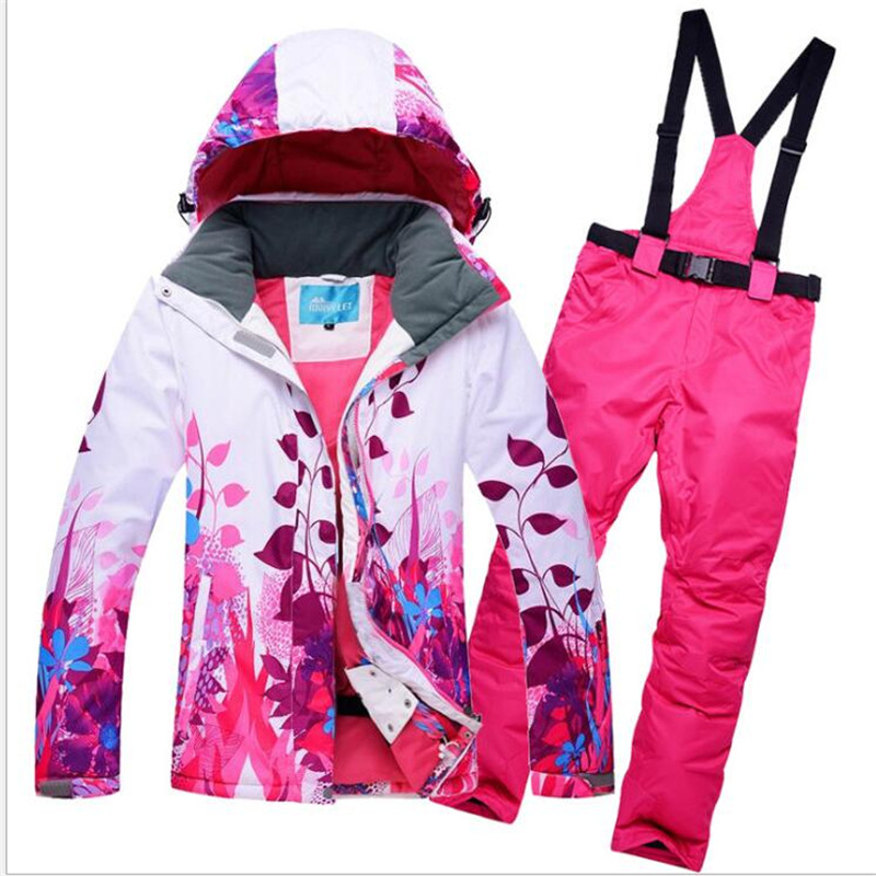 Skiing & Snowboarding Objective Arctic Queen Brand Skiing Jacket Womens Colorful Windproof Waterproof Jacket Thick Hooded Skiing Jackets Winter Outdoor Wear