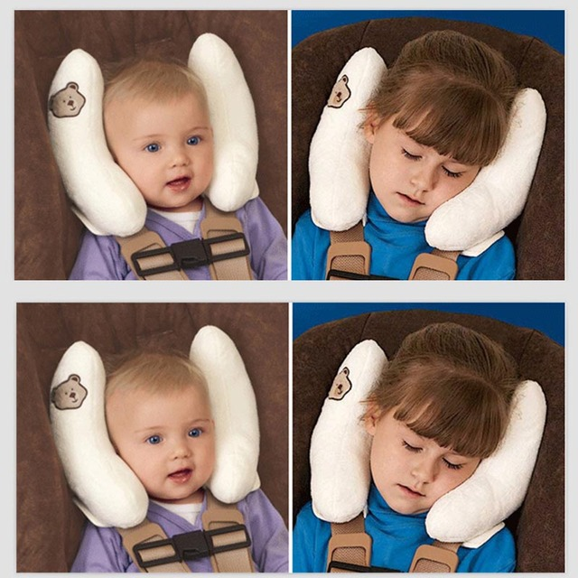 Soft Summer Infant Baby Adjustable Protection Pillow Head Neck Support Fitted For Car Seat Stroller